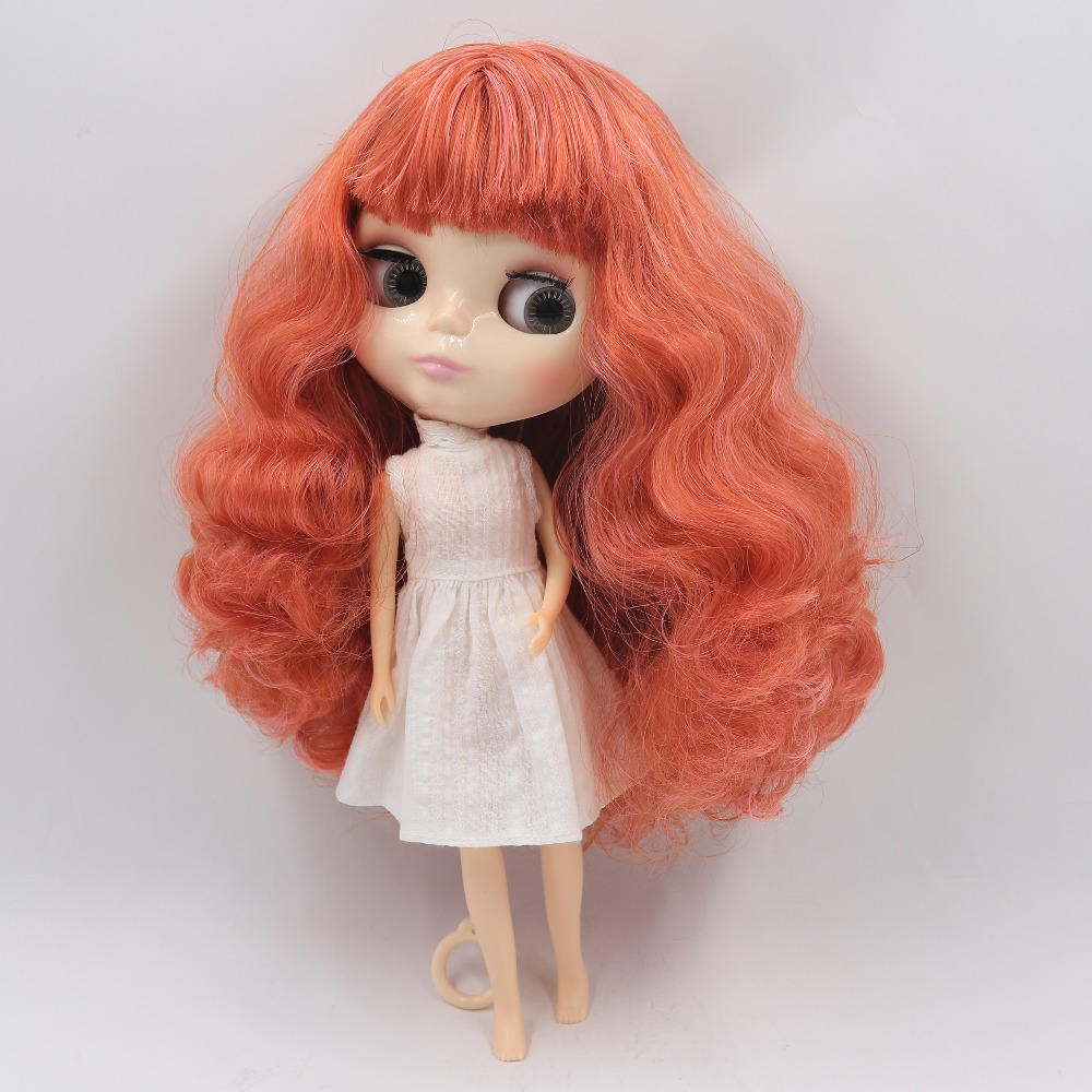 Hearty Factory Blyth Doll Licca Body Shaking Neck Pink Mix Red Brown Hair 30cm 1/6 Bl1207/2369 Last Style Dolls Toys & Hobbies