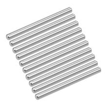UXCELL 10Pcs Dowel Pins 9 Sizes 304 Stainless Steel Shelf Support Pin Fasten Elements Silver Tone Smooth Surface Anti-rust цена и фото