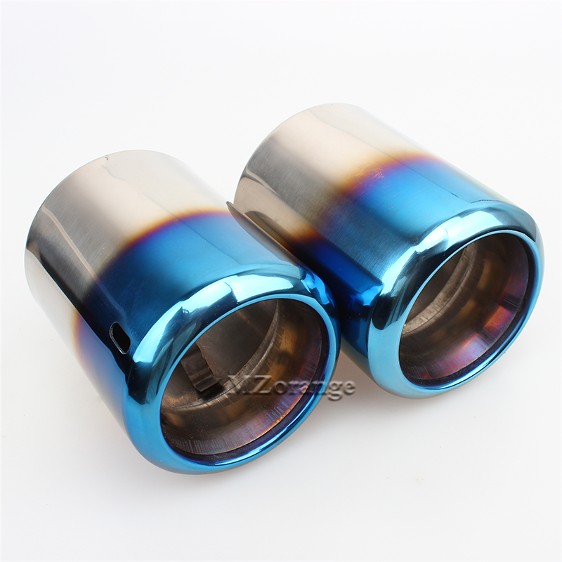 For Mazda 6 CX-5 CX5 2009-2016 Car Chrome Exhaust Muffler Tip Tailpipe Finisher End Trim Stainless Steel Tail Pipe Atenza 2Pcs arte lamp настенный светильник arte lamp leaves a4020pl 2cc