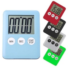 Кухонный сигнал, цифровой таймер, мини, ЖК-дисплей, Квадратный, для приготовления пищи, кухонные аксессуары, инструменты, Helpers, магнит, таймер обратного отсчета, тонкий