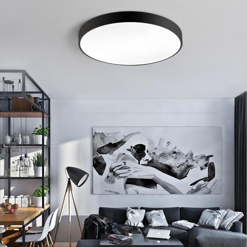 LED Moderne Plafond Verlichting Plafondlamp Met Afstandsbediening ...