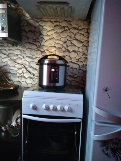BRAND6060 electric pressure home smoker cooker. 6L Multivarka electric Cooking fast Rice multicooker Smokehouse Smoking Oil lamp