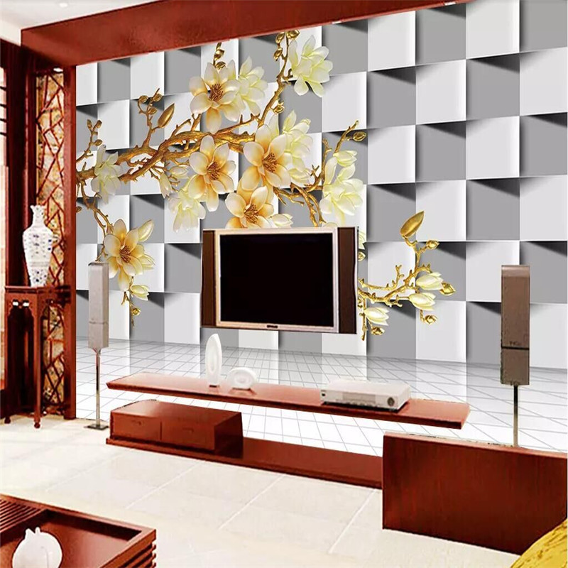 Specializing in the production of custom high end murals manufacturers wholesale wallpaper murals TV background photo wall in Wallpapers from Home Improvement