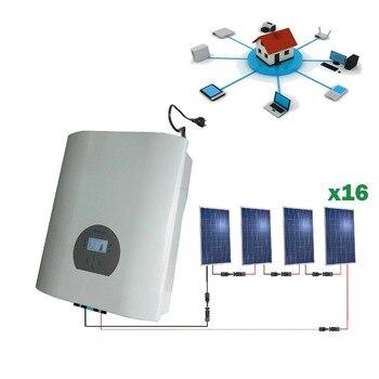 Kit solar 4000wh Autoconsumo inyección red