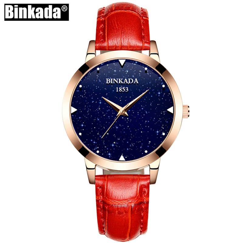 BINKADA Luxury Quartz Women Watches Brand Fashion Sport Ladies Watch Clock Relogio Feminino for Girl Female Wristwatches mjartoria ladies watches clock women quartz watch simple sport bracelet watch student girl female hand wrist watches for women