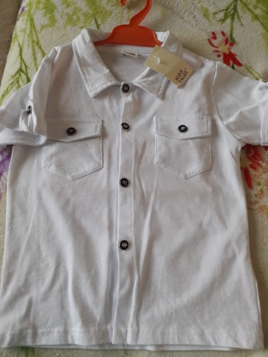 Summer boys denim clothing sets kids boys handsome short-sleeved T-shirt+denim jeans+scarf 3 pieces children clothing set