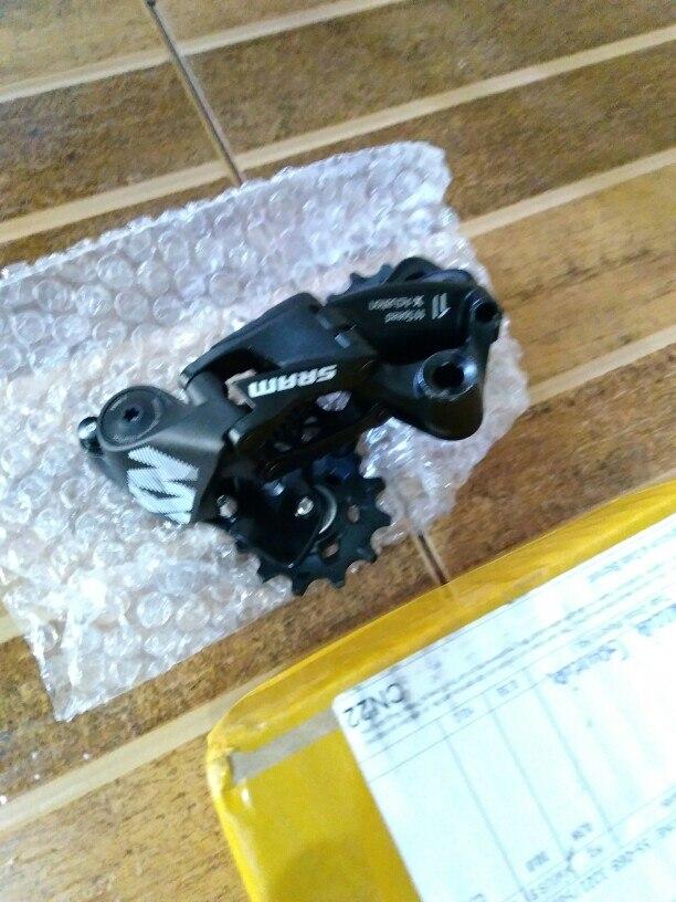 SRAM NX 11 s Скорость MTB велосипеда задний переключатель Лонг клетка черный