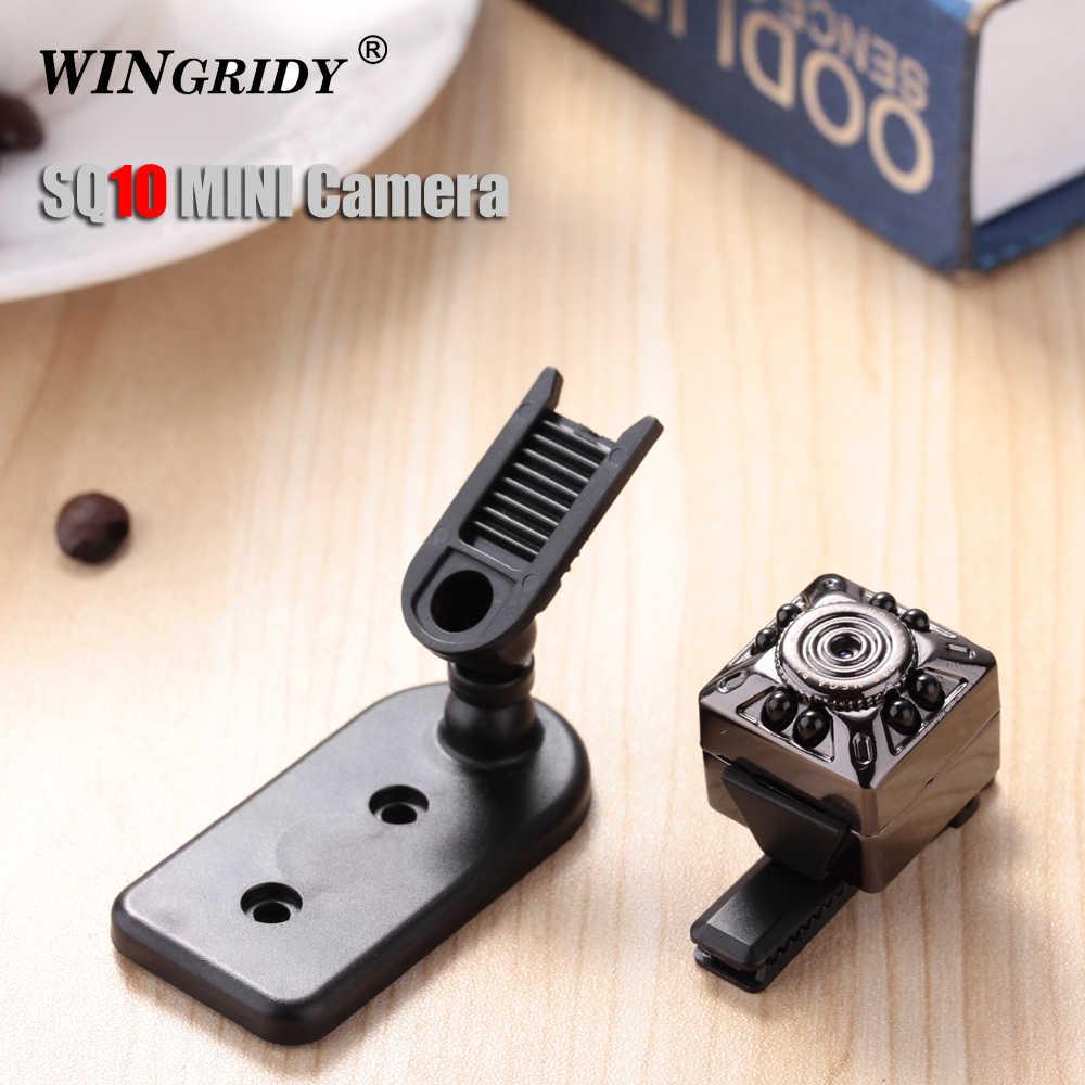 SQ10 100% оригинальная мини видеокамера мини-камера Full HD 1080 P камера рекордер HD датчик движения микро USB камера инфракрасного видения
