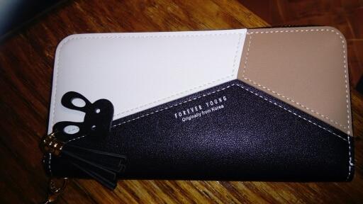кожаный бумажник женщин; держатель кредитной карты ; Подкладка Материал:: Полиэстер;