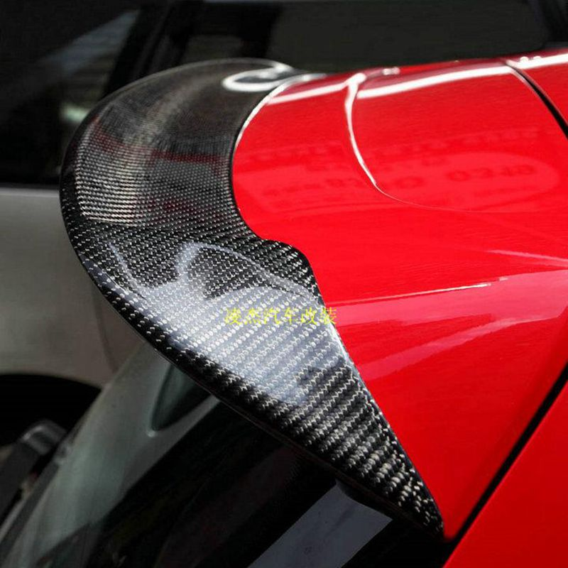 Carbon Fiber Car Rear Roof Spoiler Boot Lip Wings For Volkswagen VW Golf 6 VI MK6 R20 GTI 2010-2013 O Style 2007 bmw x5 spoiler