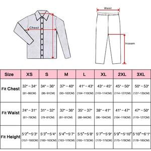 Image 2 - Ensemble pyjama en Satin de soie pour femmes, pyjama S,M, L, XL, 2XL, 3XL, vêtements de nuit Plus