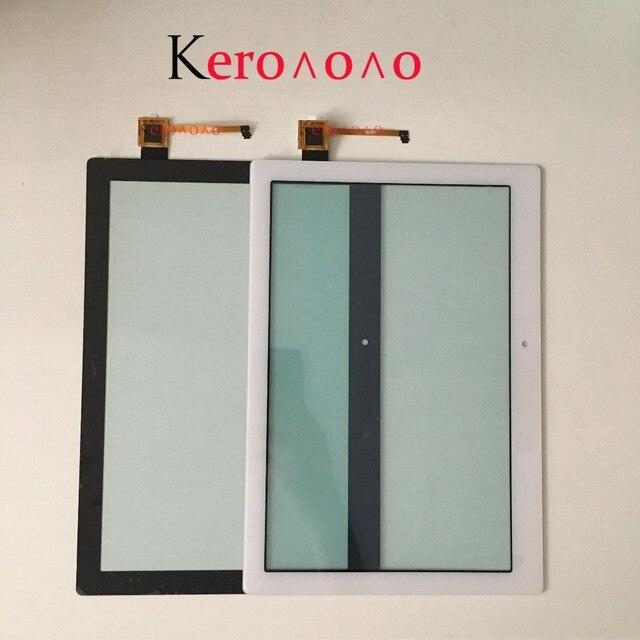 """10.1 """"لينوفو تبويب 2 A10-70 A10-70F A10-70L محول الأرقام بشاشة تعمل بلمس لوحة الاستشعار الخارجي الزجاج اللوحي استبدال أجزاء"""