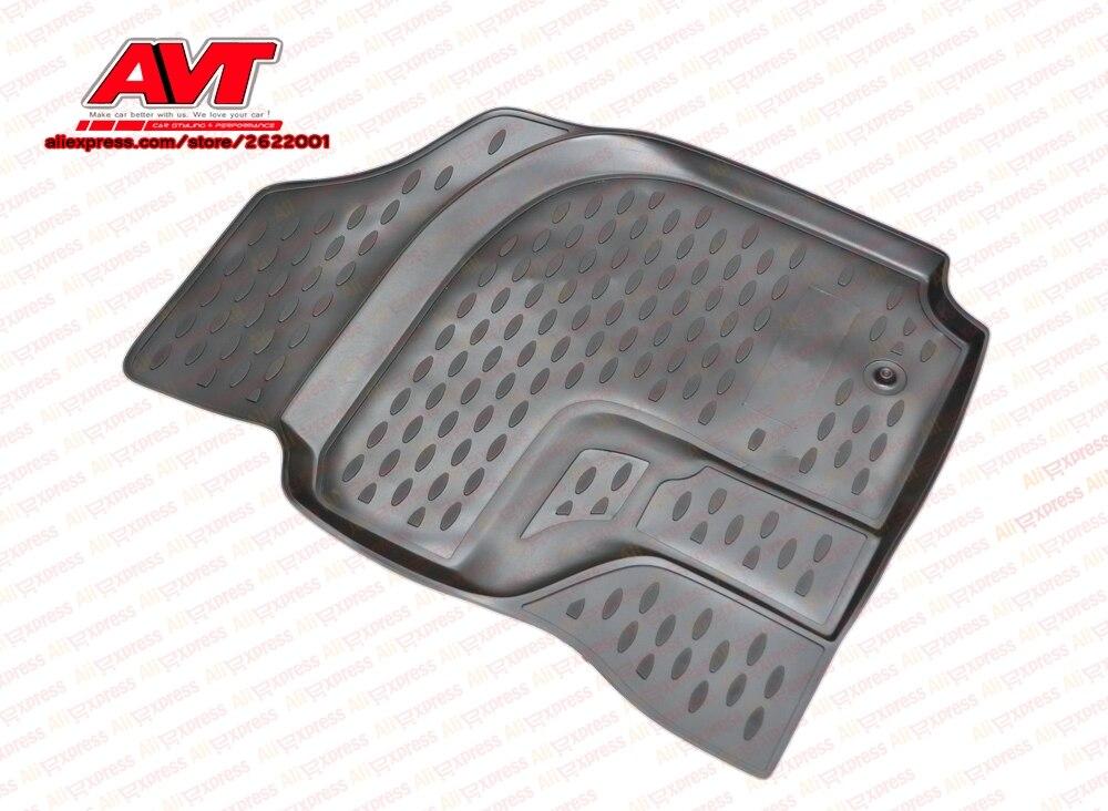 Tapis de sol pour Toyota RAV4 ACA21W JDM 2000-2005 4 pièces en caoutchouc tapis en caoutchouc antidérapant intérieur voiture accessoires de coiffure