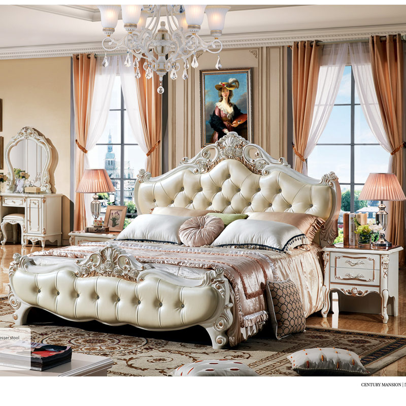Good Quality Classical Luxury Bedroom Furniture Set Bedroom Sets