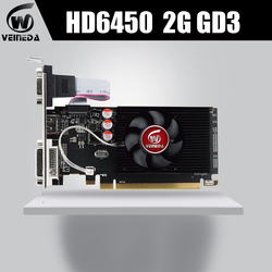 Veineda Graphics Cards HD6450 2GB DDR3 HDMI Graphic Video Card High-end Game Graphics Card HD6450