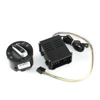 New Auto Aluminium Auto Headlight Sensor + Switch Module For VW Volkswagen Jetta Golf MK4 1998 2004 5ND 941 431 B