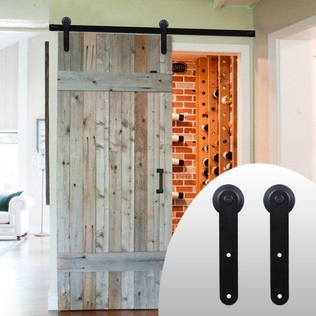 Lwzh European Style Wood Sliding Barn Door Hardware Carton Steel