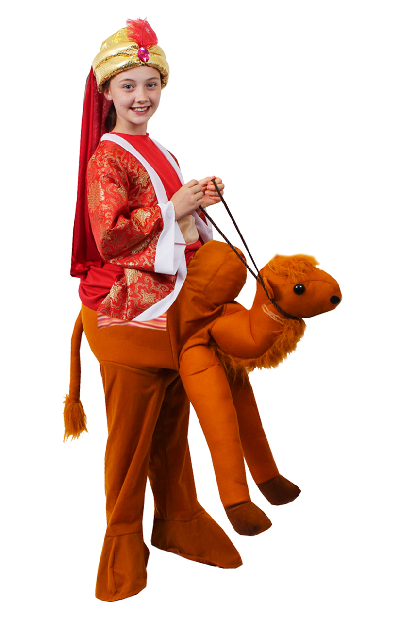 CHILD CAMEL PICK ME UP COSTUME ANIMAL NATIVITY CHRISTMAS XMAS UNISEX FANCY DRESS
