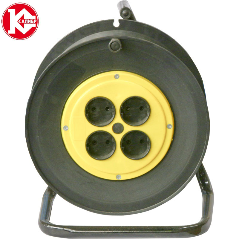 Kalibr 30 meters (2x0.75) electrical extension wire for lighting connect on the reel, cross-section 2*0,75 kalibr 50 meters electrical extension wire for lighting connect on the reel cross section 2 2 5