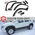 Колесным крылья для Renault Duster 2010-2019 fendors Накладка аксессуары защита украшения экстерьера стайлинга автомобилей v2