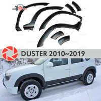 Cavas das rodas fenders para Renault Duster 2010-2019 fendors guarnição acessórios de proteção decoração exterior car styling v2