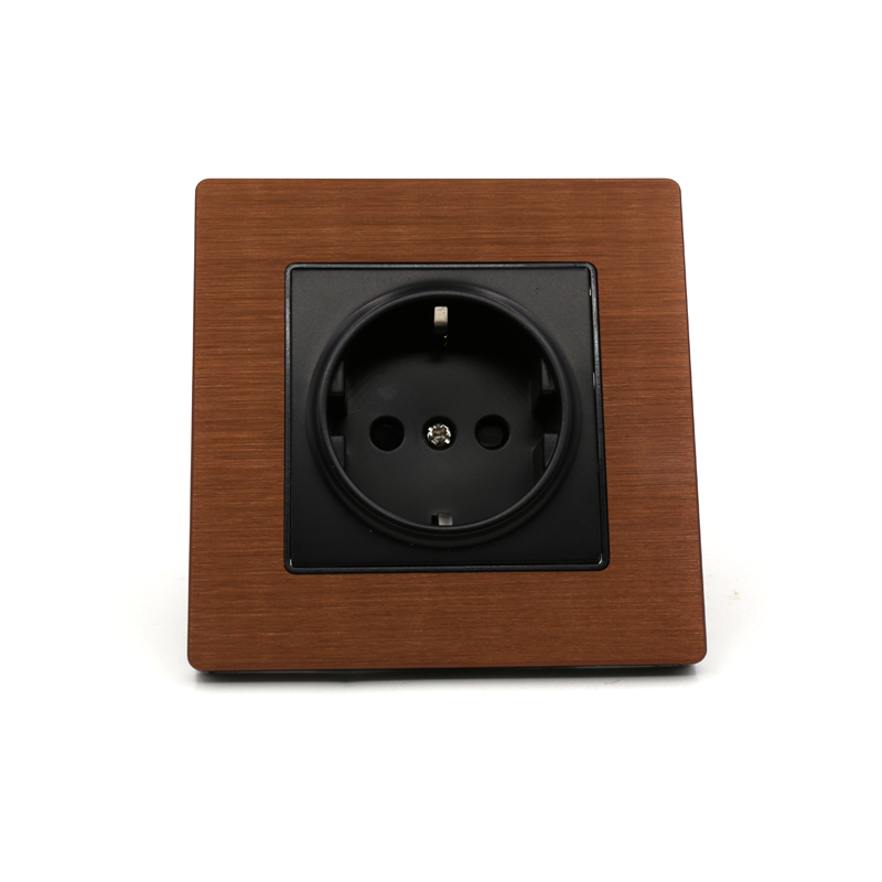 Free shipping ONE Pieces EU version AC 20A power Receptacles wall outlet audio grade socket