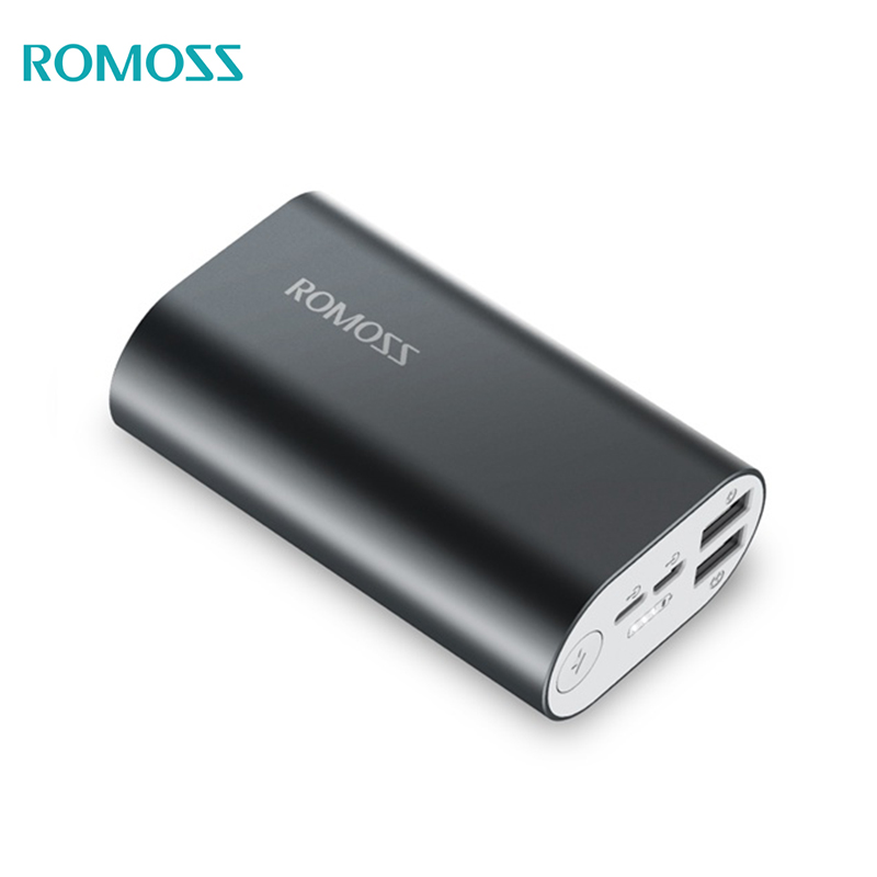 Power bank Romoss ACE 10 10000 mAh solar power bank externa bateria portable charger for phone car jump starter battery 82800mah portable booster with usb power bank led flashlight for truck automobiles boat hot sale