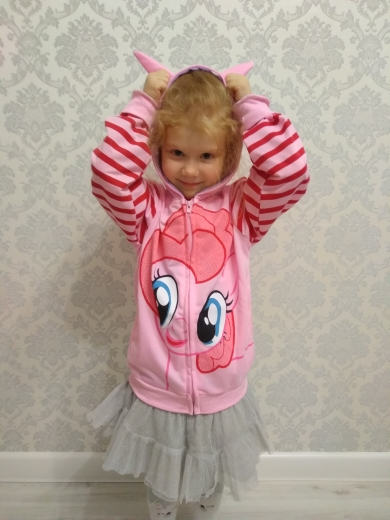 Children Colorful Unicorn Wing Hoodies photo review