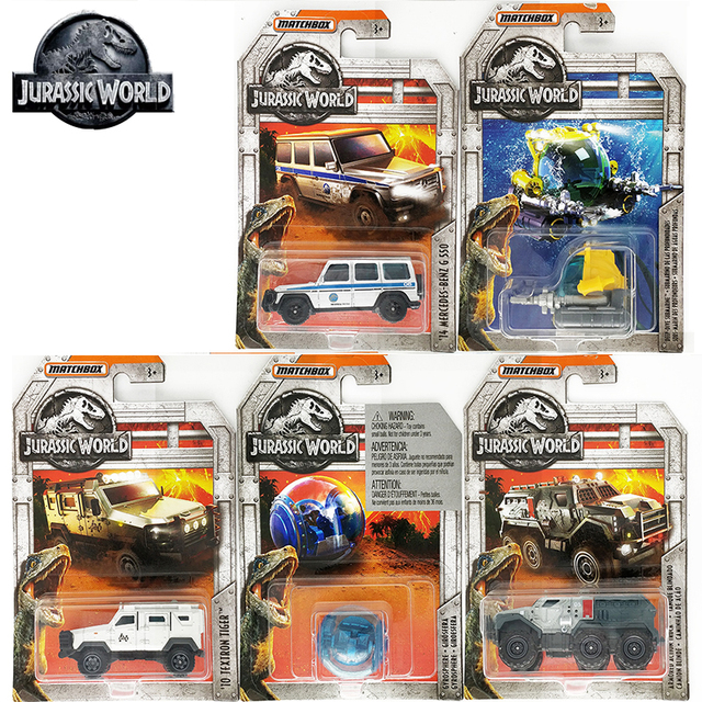 Original Matchbox Toys 1:64 Jurassic World Limited Edition Cars 14 Mercedes-Benz G 550 Diecast Vehicle Collection Alloy Race Car