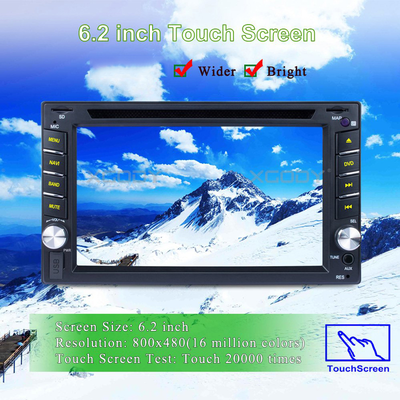 7inch TFT LCD Display Car GPS Navigation SAT NAV 8GB Navigator with Sunshade JW