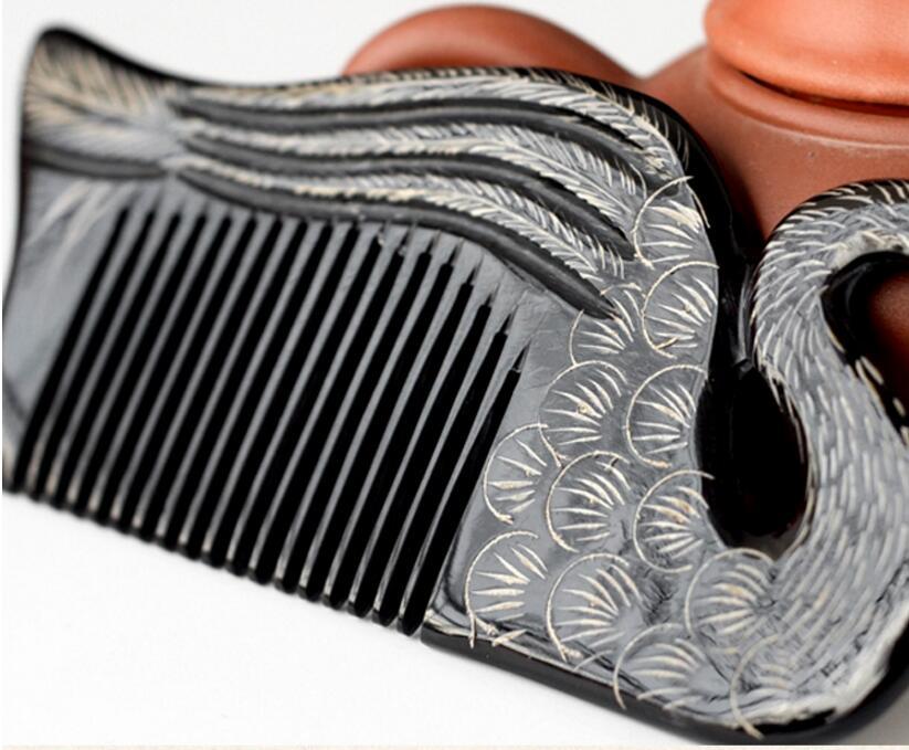 No-estática Massagem escova de Cabelo Escova de