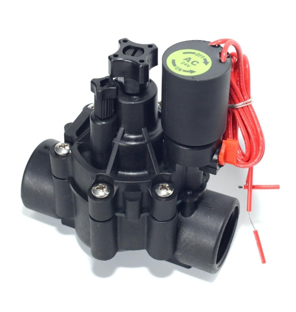 Zanchen Plastic DH/  P Series Combination Globe And Angle Electric Remote Control Valve, BSP 24 VAC