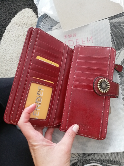 2019 hot fashion ladies clutch bag leather wallet female long wallet ladies zipper wallet high quality wallet iPhone8 photo review