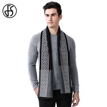 FS Print Cashmere 2017 Luxury Brand Mens Long Scarves Fashionable Business Little Shawl Winter Scarf Echarpe Wrap Pashmina