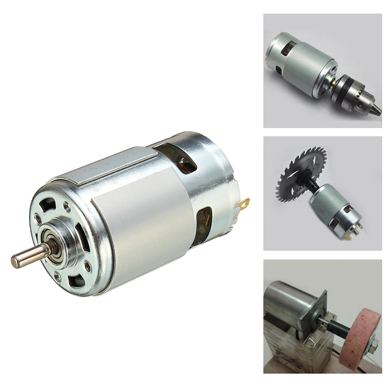 775 motor DC 12V 1.2A 100W low noise high speed large torque power tool parts for mini cutting machine sanding machine electric