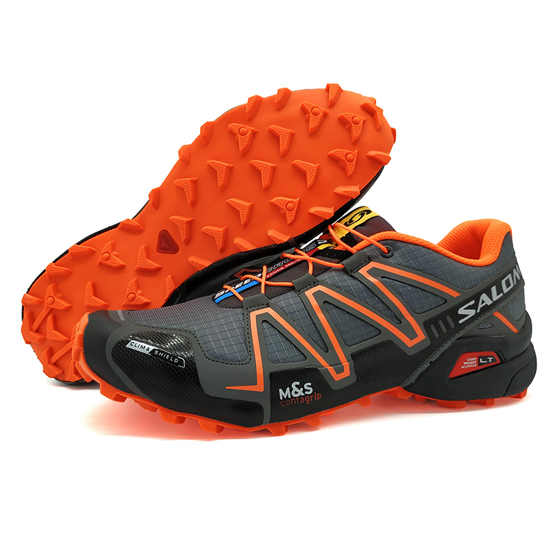 salomon shoes Men Speed Cross 3 CS zapatos hombre Running Shoes Summer  Sneakers Men Male Brand Outdoor Walking Sport shoes 7422725cbc