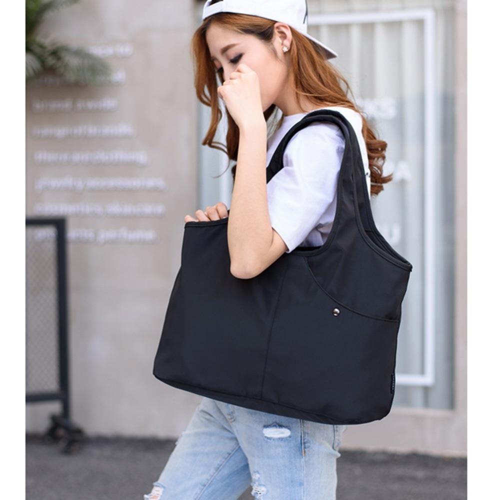 Vbiger Women Handbag Large Capacity Shoulder Bag Reusable Grocery Bag High Quality Oxford Cloth Shopping Bag For Girls