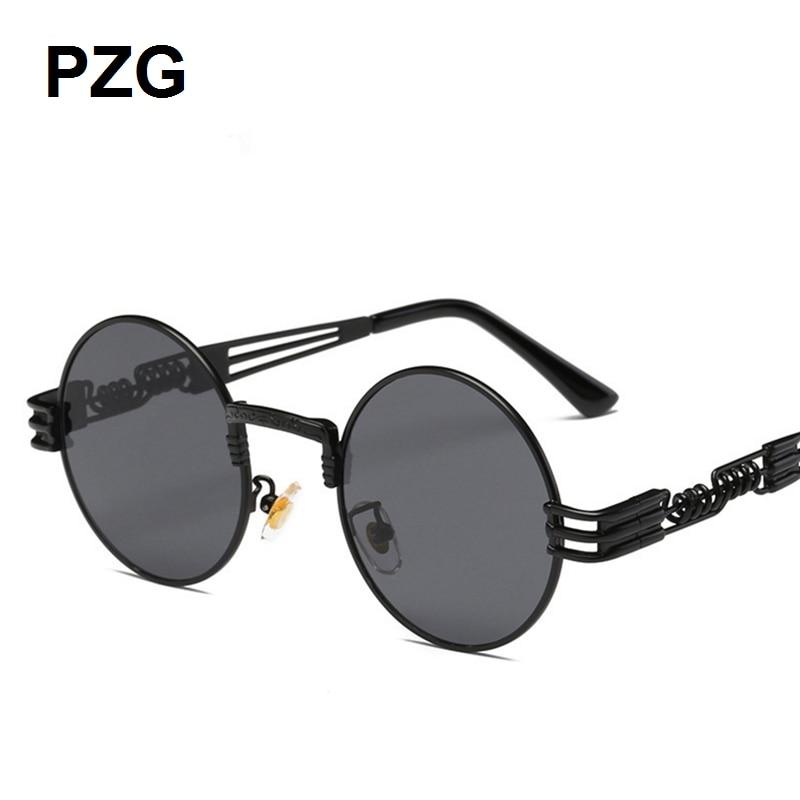 PZG mewah merek Punk Kacamata 2018 baru pria womens kacamata Paduan - Aksesori pakaian - Foto 4