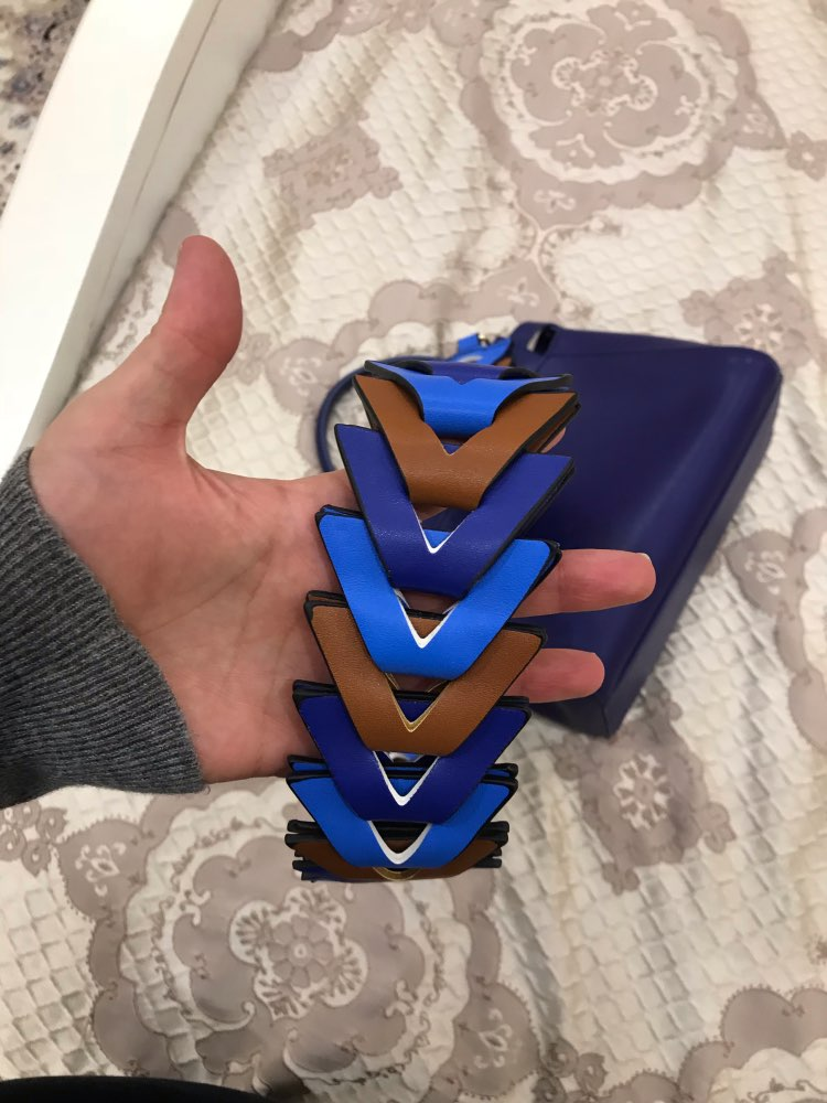 Fashion Hit Color Knit Handbags belts Women's Bgs Strap Ladies Bag Accessory Bags Parts Pu Leather Shoulder Bag Belts Gift Belts photo review