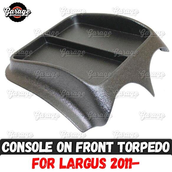 Console Op Voorpaneel Voor Lada Largus 2011 Abs Plastic Organizer Functie Pad Accessoires Krassen Auto Styling Tuning