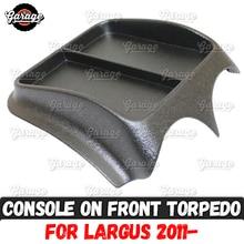 Console sur Lada Largus 2011  ABS, organisateur en plastique, accessoires, rayures, réglage de la voiture