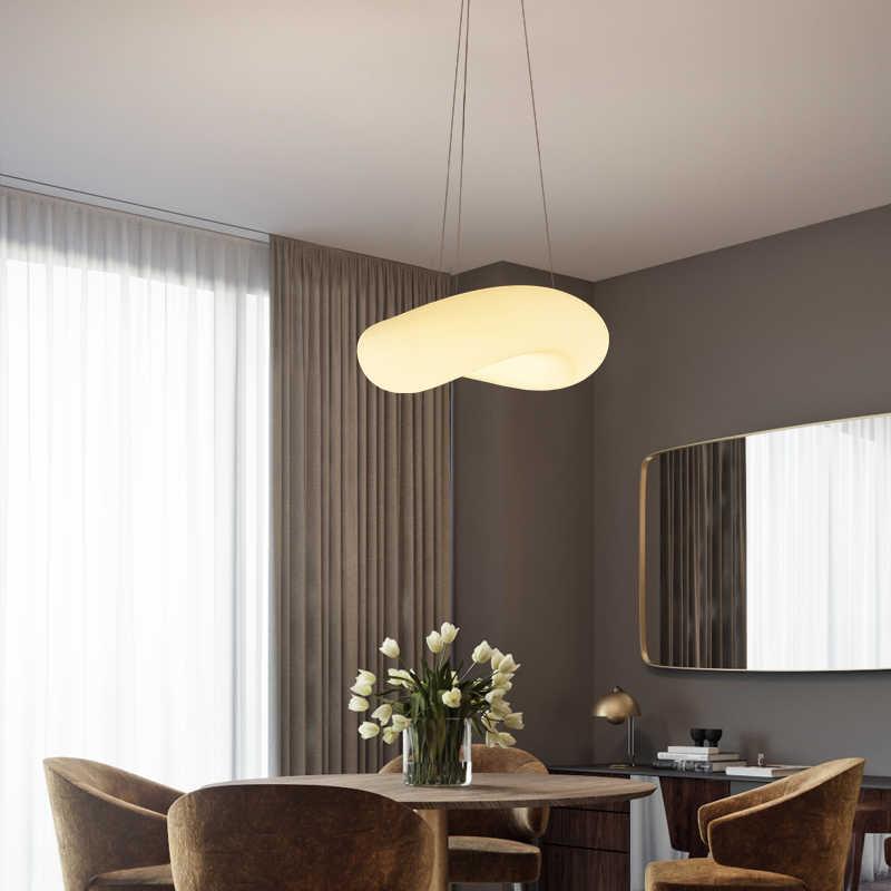 Новый европейский дизайн 30 Вт современный элегантный светодиодный подвесной светильник для столовой гостиной подвесные светильники