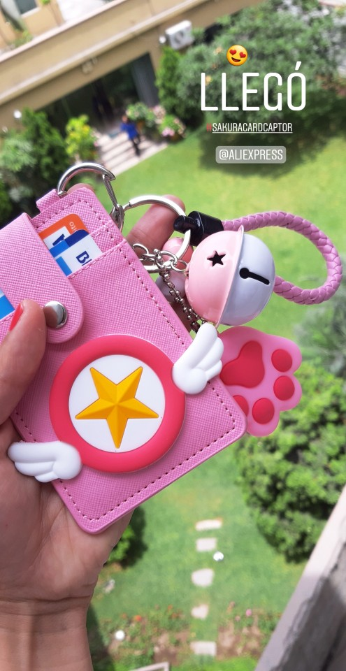 Kawaii Pink Cat Claw Card Holder Women ID Card Holders Lolita Cute Leather Cards Case for Girls Bank Credit Card Cover Protector photo review