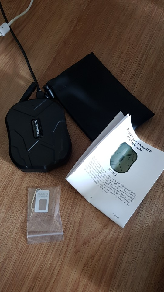 GPS Vehicle GPS Locator TK905 Waterproof Magnet