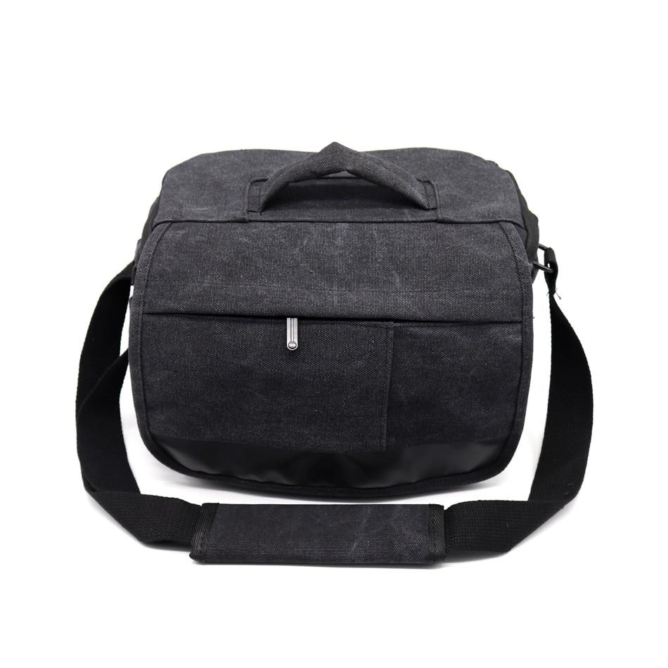 SLR Digital Canvas Camera Case Backpack Shoulder Bag For Canon Nikon Sony A77 Olympus Pentax DSLR