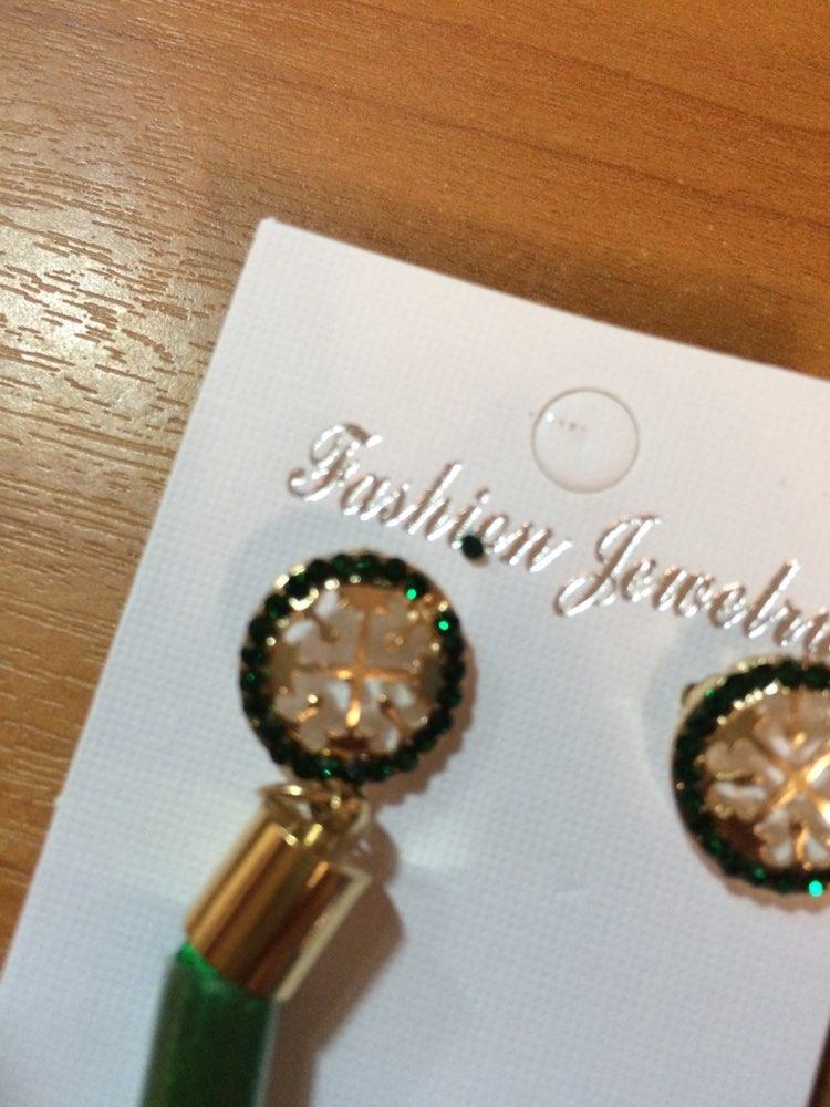 19 Color Long Crystal Tassel Earrings photo review