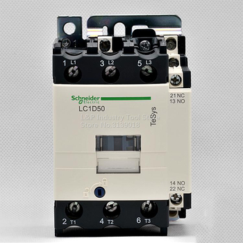 (Old Version) New Original Schneider Electric LC1D50M7C Contactor Relay LC1-D50M7C 50A Load 22KW-380V
