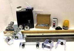 Stick kit DKC500 mit montage platte, GSM modul, photozellen, taste, warnung lampe, zahn stahl schiene und kit3 konsole ausrüstung