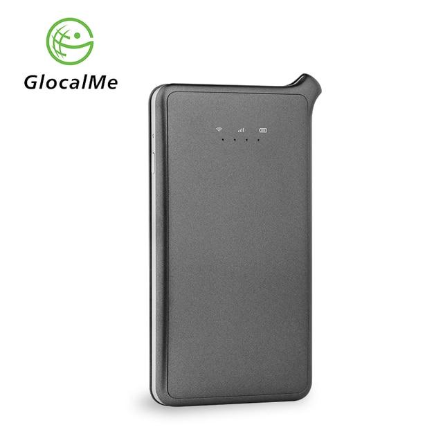 GlocalMe 4G U2S WIFI yönlendirici Ücretsiz Dolaşım Hızlı Ağ Dünya Çapında Taşınabilir LTE Kablosuz Wi-Fi Router MiFi ile Sim Kart Yuvası