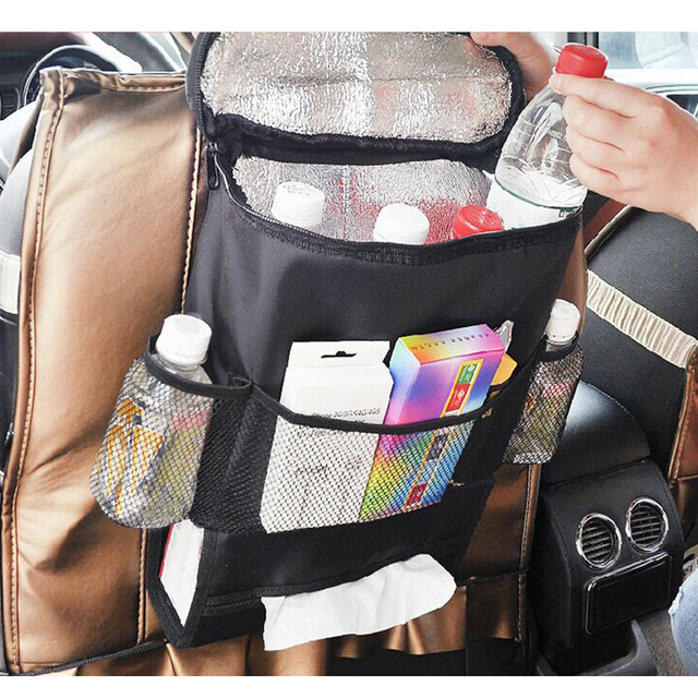 baby kids car organizer storage bags stroller organizer accessories keep warm kids food storage container car